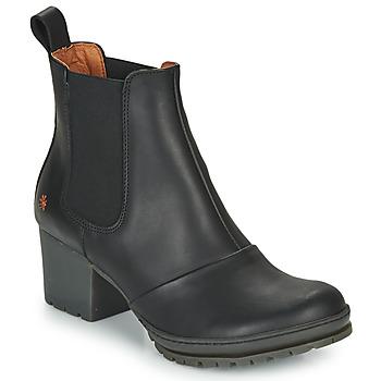 kengät Naiset Nilkkurit Art CAMDEN Black