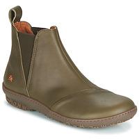 kengät Naiset Bootsit Art ANTIBES Kaki