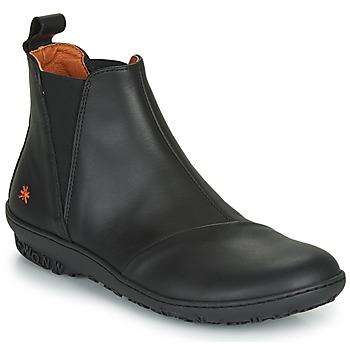 kengät Naiset Bootsit Art ANTIBES Black