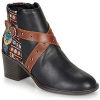 kengät Naiset Nilkkurit Desigual ALASKA TAPESTRY Black