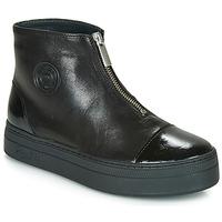 kengät Naiset Bootsit Pataugas VALENTINA Black
