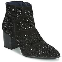 kengät Naiset Nilkkurit Dorking LESLY Musta