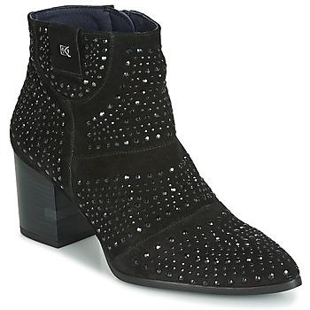 kengät Naiset Nilkkurit Dorking LESLY Black