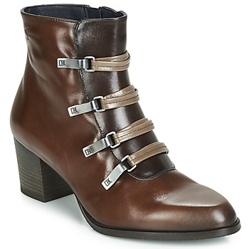 kengät Naiset Nilkkurit Dorking ZUMA Camel