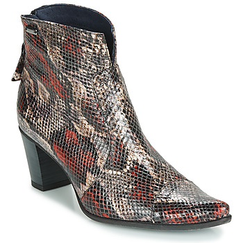 kengät Naiset Nilkkurit Dorking GRANADA Red
