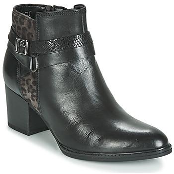 kengät Naiset Nilkkurit Gabor 3289367 Black / Leopardi