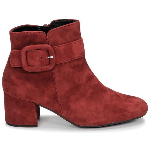 Gabor 3581610 Red - Ilmainen Toimitus- Kengät Nilkkurit Naiset 93