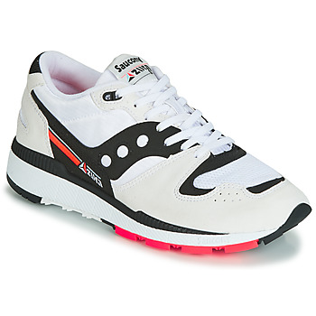 kengät Miehet Matalavartiset tennarit Saucony AZURA White / Black / Red