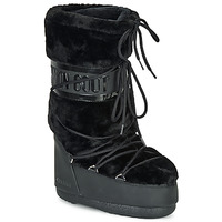 kengät Naiset Talvisaappaat Moon Boot MOON BOOT CLASSIC FAUX FUR Black