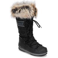 kengät Naiset Talvisaappaat Moon Boot MOON BOOT MONACO WP 2 Musta
