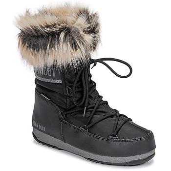kengät Naiset Talvisaappaat Moon Boot MOON BOOT MONACO LOW WP 2 Black
