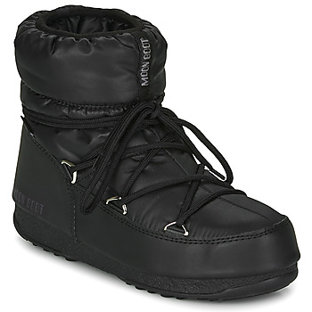 kengät Naiset Talvisaappaat Moon Boot MOON BOOT LOW NYLON WP 2 Musta