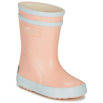 kengät Tytöt Kumisaappaat Aigle BABY FLAC Vaaleanpunainen