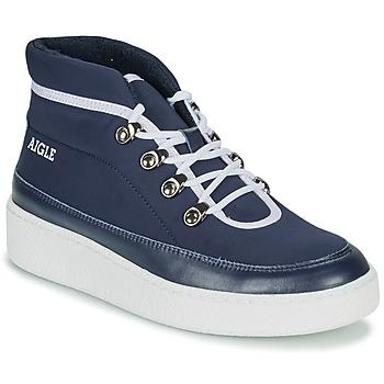 kengät Naiset Bootsit Aigle SKILON MID Laivastonsininen