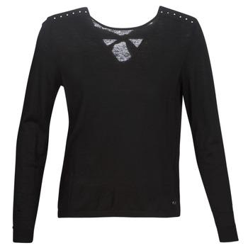 vaatteet Naiset Neulepusero Kaporal PIKOU Black