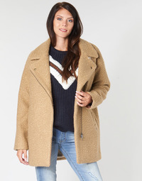 vaatteet Naiset Paksu takki Kaporal DALIA Beige / Brown