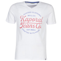 vaatteet Miehet Lyhythihainen t-paita Kaporal OBUCE White