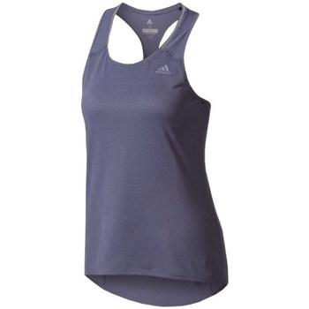 vaatteet Naiset Hihattomat paidat / Hihattomat t-paidat adidas Originals Supernova Tank Top W Tummansininen