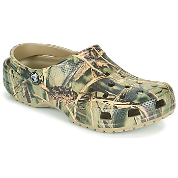 kengät Miehet Puukengät Crocs CLASSIC REALTREE Khaki