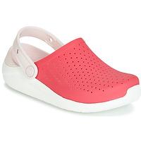 kengät Tytöt Puukengät Crocs LITERIDE CLOG K Red / White