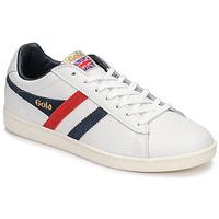 kengät Miehet Matalavartiset tennarit Gola EQUIPE White / Blue / Red