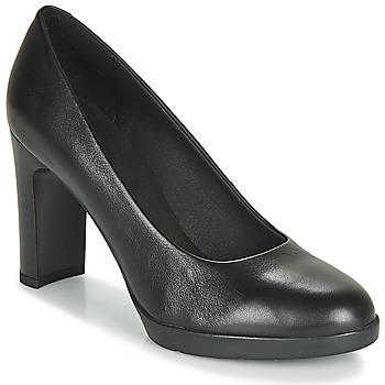 kengät Naiset Korkokengät Geox D ANNYA HIGH Black