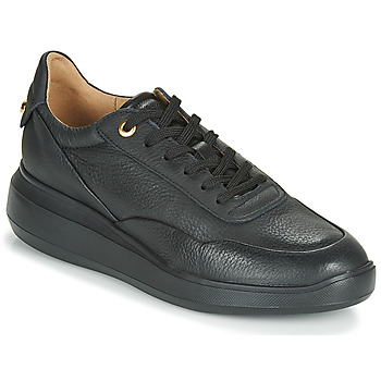 kengät Naiset Matalavartiset tennarit Geox D RUBIDIA Black