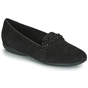 kengät Naiset Balleriinat Geox D ANNYTAH Black