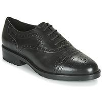 kengät Naiset Derby-kengät Geox D BETTANIE Black