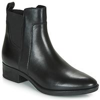 kengät Naiset Bootsit Geox D FELICITY Black