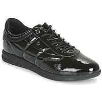 kengät Naiset Matalavartiset tennarit Geox D AVERY Black