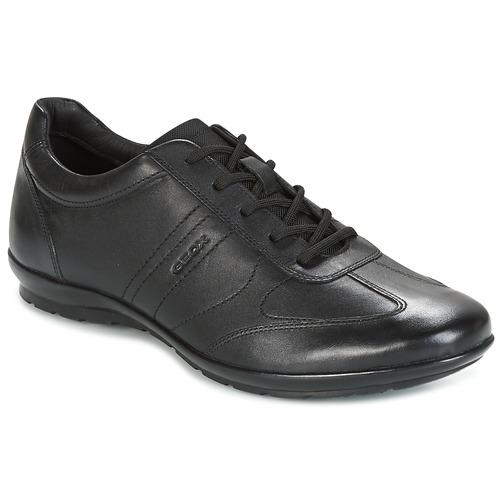 kengät Miehet Derby-kengät Geox UOMO SYMBOL Black