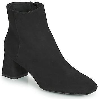 kengät Naiset Nilkkurit Geox D SEYLA Black