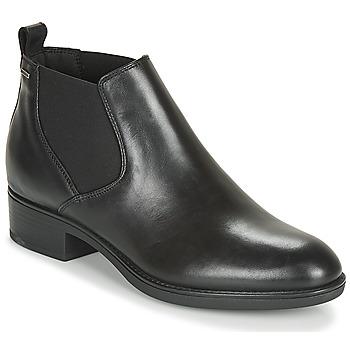 kengät Naiset Bootsit Geox D FELICITY NP ABX C Black
