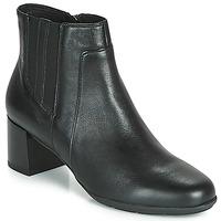 kengät Naiset Nilkkurit Geox D NEW ANNYA MID Black