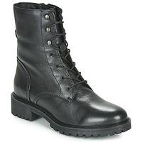 kengät Naiset Bootsit Geox D HOARA Black
