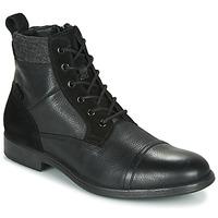 kengät Miehet Bootsit Geox U JAYLON Black