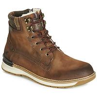 kengät Miehet Bootsit Mustang 4141602-362 Brown