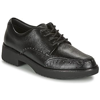kengät Naiset Derby-kengät FitFlop KEELY MICROSTUD BROGUES Black