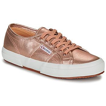 kengät Naiset Matalavartiset tennarit Superga 2750 COTMETU Pink