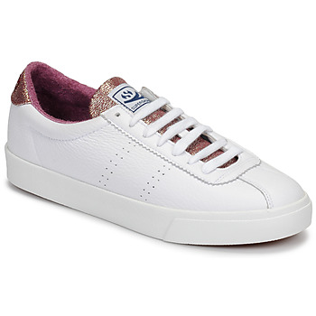 kengät Naiset Matalavartiset tennarit Superga 2843 COMFLEALAMEW White