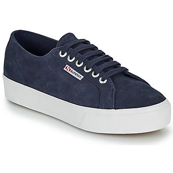 kengät Naiset Matalavartiset tennarit Superga 2730 SUEU Sininen