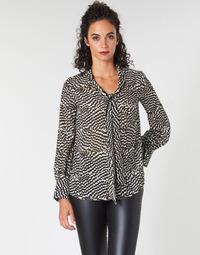 vaatteet Naiset Topit / Puserot Ikks BP13065-02 Beige / Black