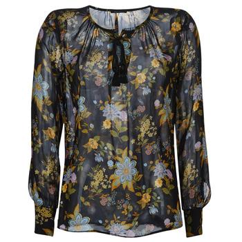 vaatteet Naiset Topit / Puserot Ikks BP13125-02 Black / Multicolour
