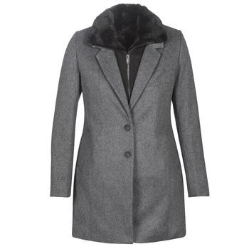 vaatteet Naiset Paksu takki Ikks BP44235-29 Grey