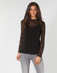 vaatteet Naiset Topit / Puserot One Step CASTILLA Musta