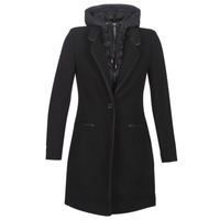 vaatteet Naiset Paksu takki One Step DRISS Black