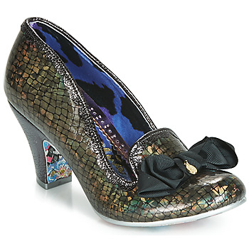 kengät Naiset Korkokengät Irregular Choice KANJANKA Musta
