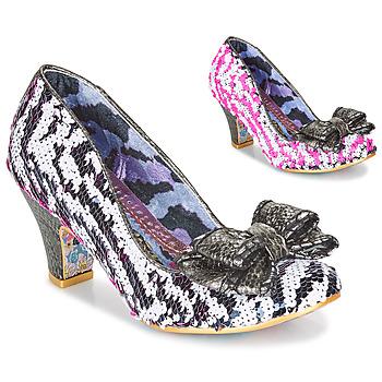 kengät Naiset Korkokengät Irregular Choice LADY BANJOE White / Black