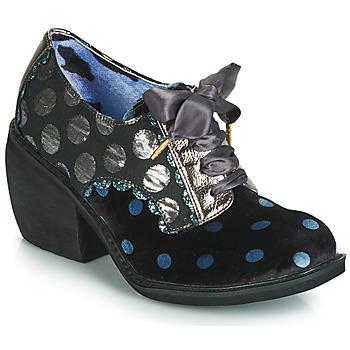 kengät Naiset Nilkkurit Irregular Choice TIPPLE Musta